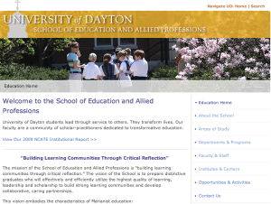 UD home page