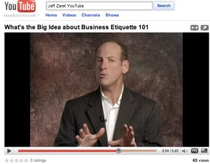 Jeff Zaret video