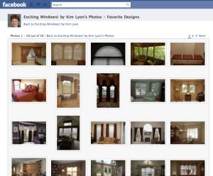 Kim Lyon Exciting Windows! Facebook fan page photos