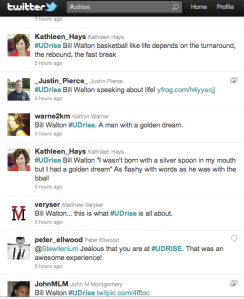 Twitter #UDrise Screen shot 2011-03-31